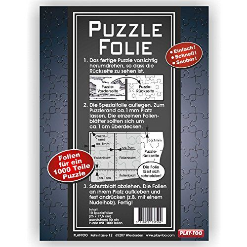Mic Magic Puzzle Fix Klebe Folie