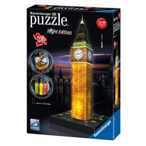 Beleuchtete 3D Puzzle mit LED